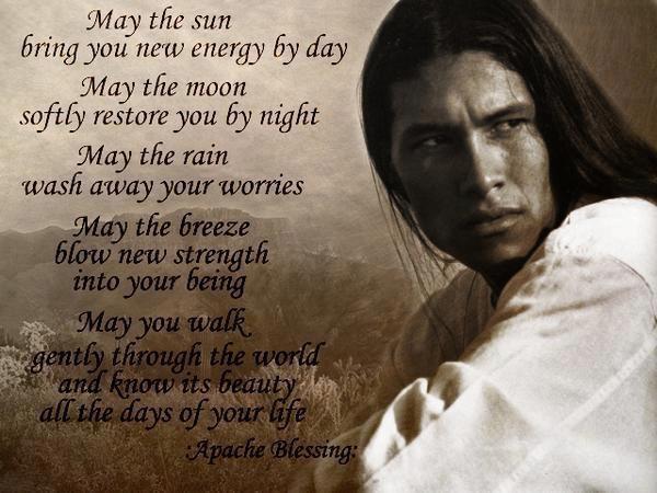 Preghiera al Sole dei nativi americani
