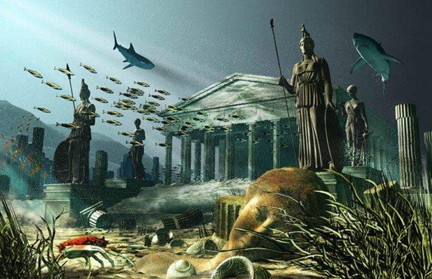 Teoria degli Antichi Umani atlantide-civiltà-sommersa