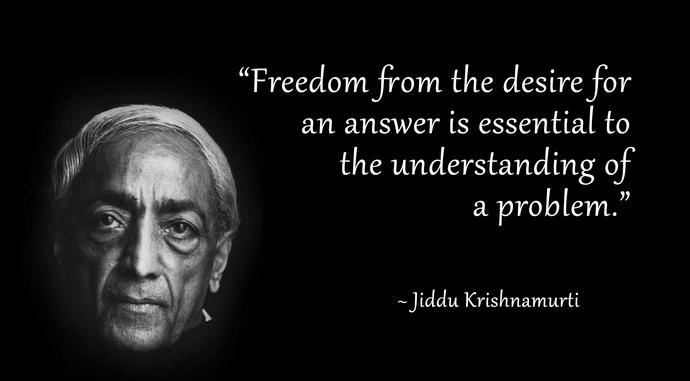 Krishnamurti e la diretta percezione della verità 002