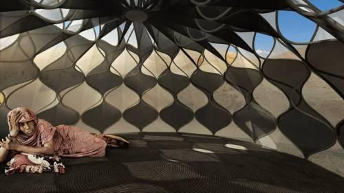 Weaving Home la casa in tessuto y