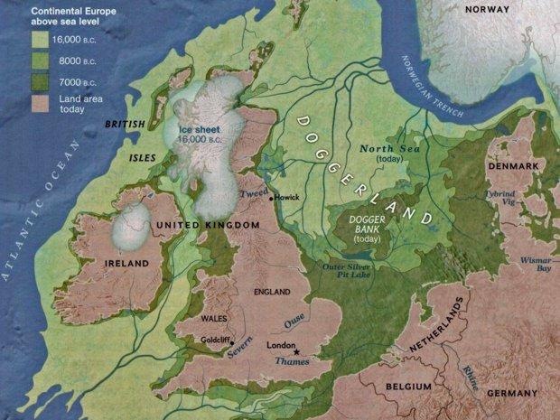Doggerland mappa