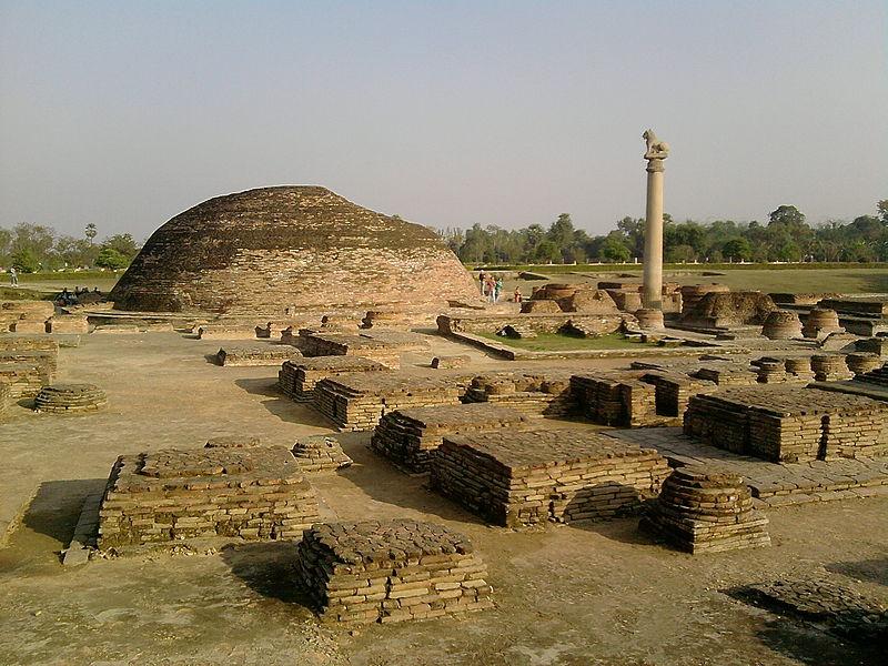 Birthplace of Mahavir(Originator of Jainism) the Ashoka Pillar