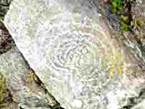 0121 Incisione su una roccia a Machu Picchu - Perù