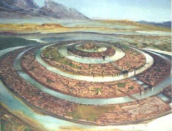 0122 palazzo aveva un diametro di cinque stadi