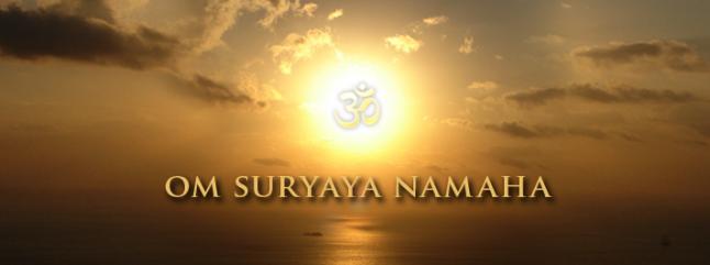 Surya e Agni suryayanamah