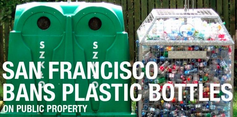 San Francisco vieta le bottiglie di plastica 004
