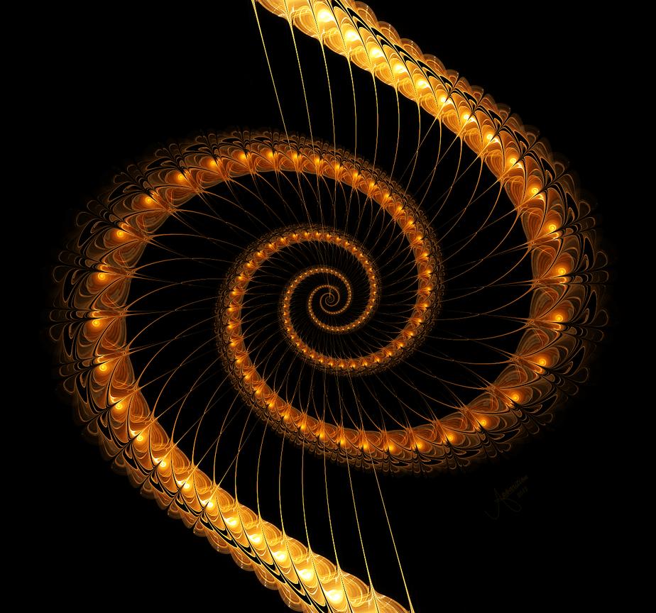 La Maestria Terreste trovando il proprio Gruppo Animico nel 2016 Arpa spirale