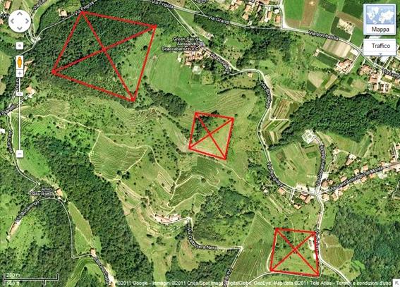 Luoghi ad Alta Energia Le piramidi di Montevecchia, vicino a Milano, in Lombardia