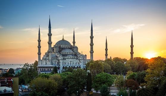 Luoghi ad Alta Energia Moschea Blu ad Istanbul in Turchia