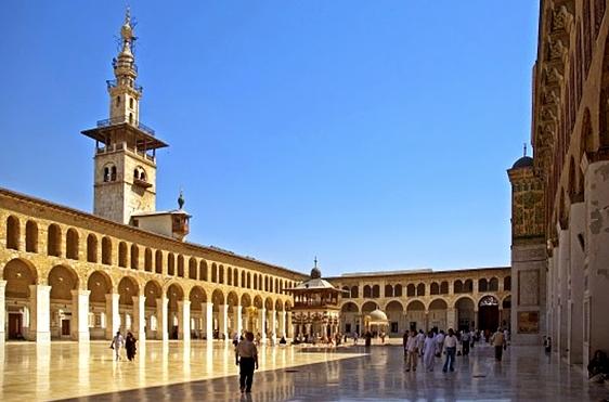 Luoghi ad Alta Energia grande Moschea Omayyade in Siria