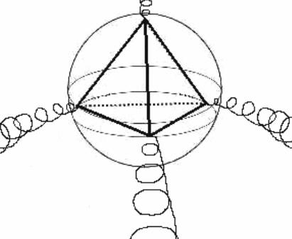 LA REALTÀ POLIGONALE emissione tetraedrica marte giove nettuno