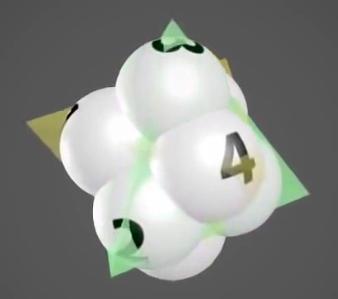 poligoni due tetraedri