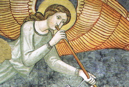 SEGRETI DELLE CATTEDRALI angelo che suona