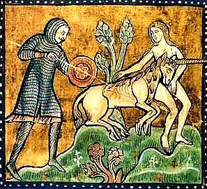 SEGRETI DELLE CATTEDRALI unicorno