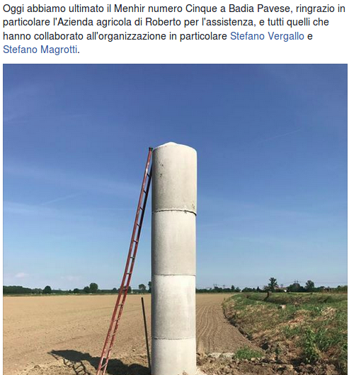 MENHIR ARTIFICIALE
