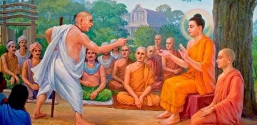 UOMO CHE SPUTÒ IN FACCIA AL BUDDHA