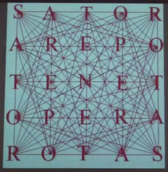 SATOR PROIETTORE DI FORME